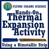 Thermostat - Particle Motion Thermal Expansion Activity (middle) NGSS MS-PS1-4