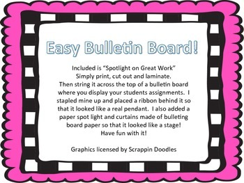 Simple and Stylish Bulletin Board