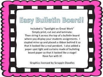 Simple and Stylish Bulletin Board