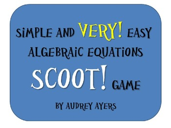 Simple and Very Easy Algebra Scoot! Game - Gate, Review, A