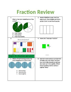 Simple and short fraction review
