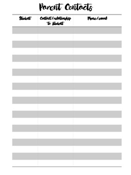 Simple and sophisticated black and white 2017 Editable Planner & Organiser