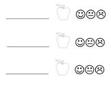 Simple apple tasting record page