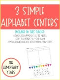 Simple but Sweet...Alphabet Centers