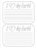 Simple earth day paper