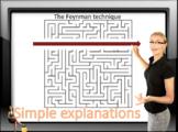 Making It Simple  - Using the Feynman technique - ESL adul