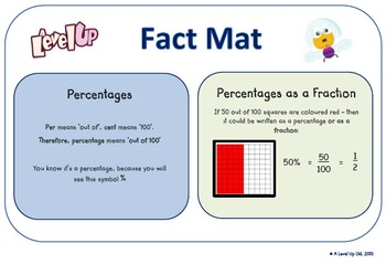 Simple fractions and percentages