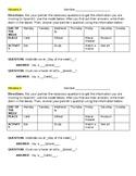 Simple future info gap activity - can use w/ Descubre 1 Lección 4