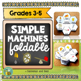Simple machines-Interactive notebook foldable