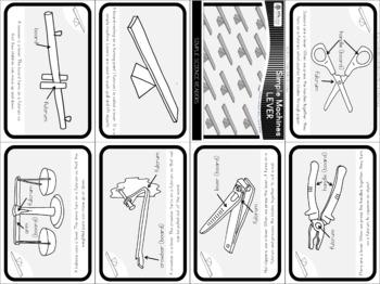 Simple machines - lever - mini book (simple)