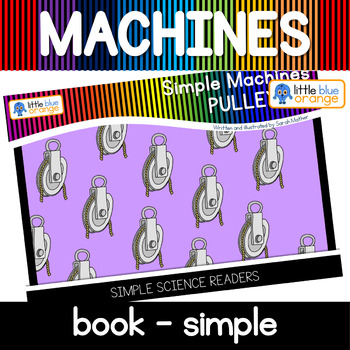 Simple machines - pulley - book (simple)
