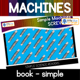 Simple machines - screw - book (simple)