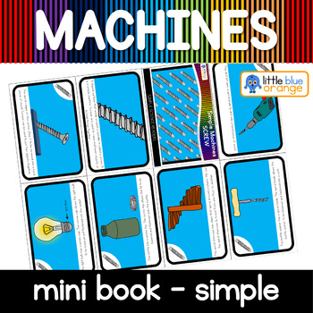 Simple machines - screw- mini book (simple)
