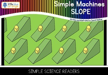 Simple machines - slope / inclined plane - book (simple)