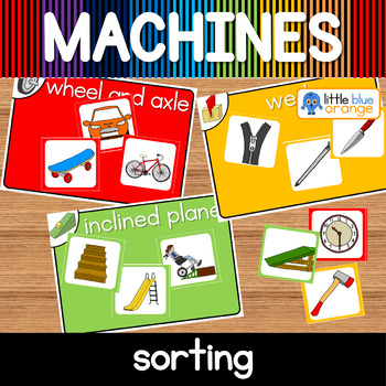Simple machines sorting activity