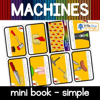 Simple machines - wedge- mini book (simple)