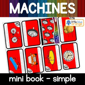 Simple machines - wheel - mini book (simple)