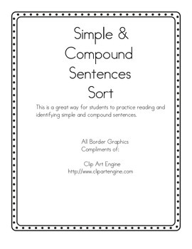 Simple or Compound Sentences