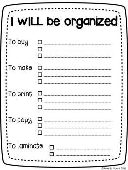 Simple organization list