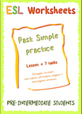 Simple past practice - NO PREP
