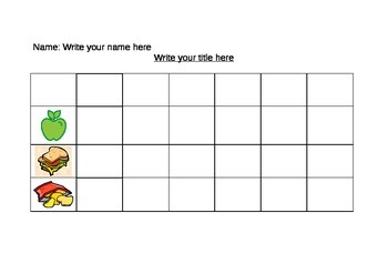 Simple pictograph chart