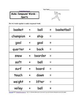 Simple present using sports