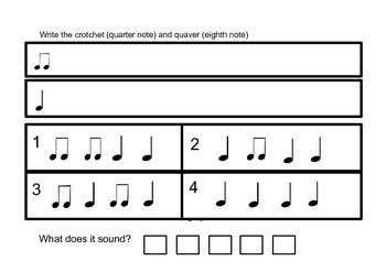 Simple rhythms