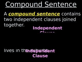 #1 Simple to Compound Sentences