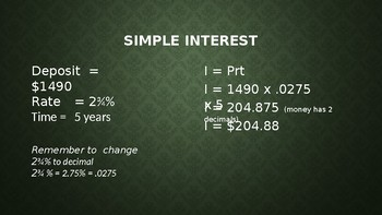 Simple vs Compound Interest