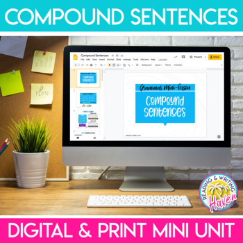 Simple and Compound Sentences Bundle