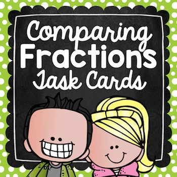 Comparing Fractions Task Cards