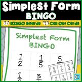 Simplest Form BINGO