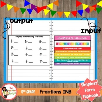 Simplest Form Flipbook