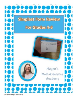 Simplest Form Fraction Review