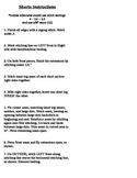 Simplicity Pattern Shorts Instructions
