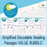 Simplified Decodable Reading Passages BUNDLE for Outschool