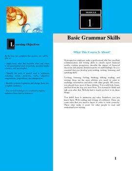 Simplified Grammar
