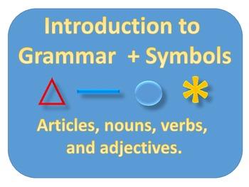 Simplified Grammar, Module 1