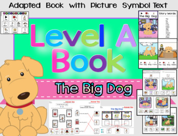 Simplified RL1.3 Adapted Identify Characters, Setting, Events Book Unit (SPED)