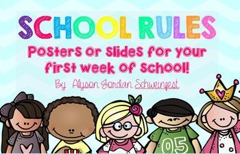 Simplified School Rules