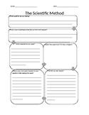 Simplified Scientific Method Lab Sheet