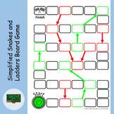 Simplified Snakes and Ladders Style Board Game