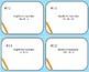 Simplify Algebraic Expressions Task Cards