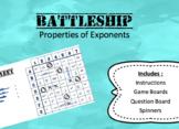 Simplify Exponents Battleship