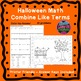 Halloween Math Combine Like Terms Fall Activities Color by Number