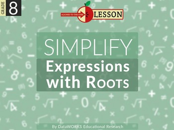 Simplify Expressions with Roots