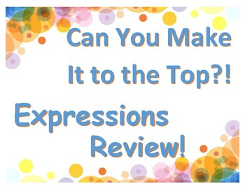 Simplify & Factor Expressions Review: Can You Make It to the Top?!
