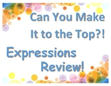 Simplify & Factor Expressions Review: Can You Make It to t