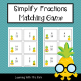 Simplify Fractions Game