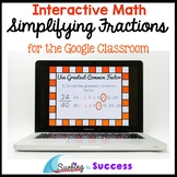 Simplify Fractions: Interactive Math for the Google Classroom